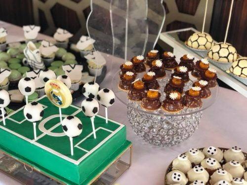 Candy bar tematic fotbal