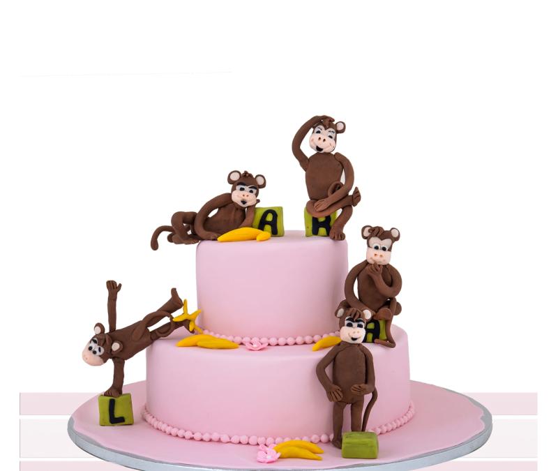 Tort copii Monkeys