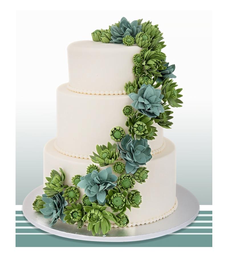 Tort de nunta Green