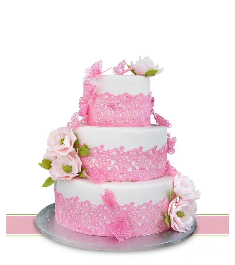 Tort de nunta La vie en rose