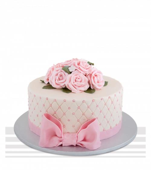 Tort de nunta Simply Pink