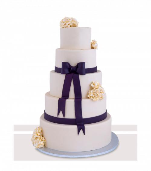 Tort de nunta Sublim White