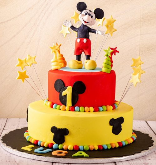 Tort copii Mickey Mouse