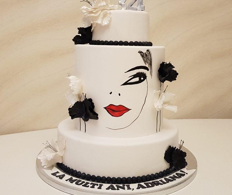 "Tort aniversare ""Be Fabulous"""