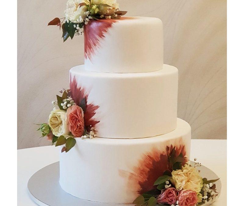 Tort nuntă Glamour Wedding