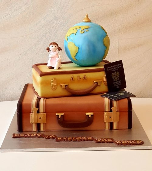 Tort pentru copii Love Travel