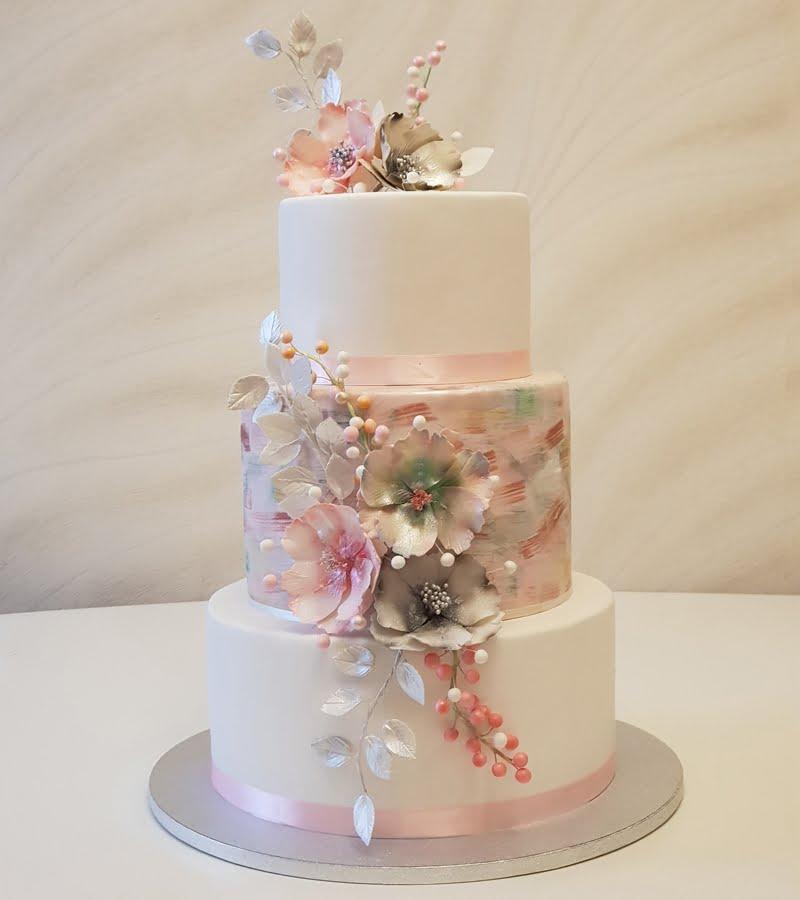 Tort nunta Cofetariile Delice Campina Ploiesti Busteni